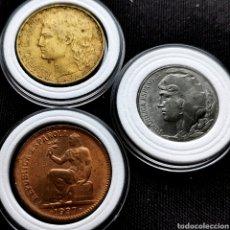 Monedas República: C14. LOTE REPÚBLICA. 2 SIN CIRCULAR. Lote 206231660