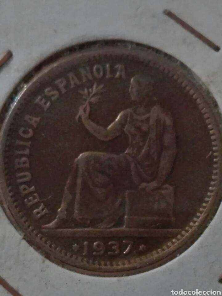 50 CENTIMOS DE LA REPÚBLICA 1937 (Numismática - España Modernas y Contemporáneas - República)
