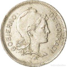 Monedas República: MONEDA, GUERRA CIVIL ESPAÑOLA, EUZKADI, PESETA, 1937, BRUSSELS, MBC+, NÍQUEL. Lote 207150845