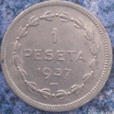 Monedas República: UNA PESETA 1937 GOBIERNO DE EUZKADI. Lote 207271215