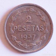 Monedas República: 2 PESETAS 1937 GOBIERNO DE EUZKADI. Lote 208458416