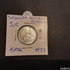 Monedas República: MONEDA PLATA 1 PESETA 1933 SEGUNDA REPÚBLICA ESPAÑOLA S/C. Lote 209802670