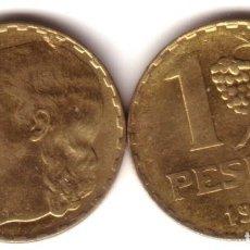 Monedas República: ESPAÑA 1 PESETA 1937 CASTELLÓN S/C LA RUBIA - LATÓN - II REPUBLICA ESPAÑOLA. Lote 209853070