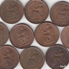 Monedas República: 10 MONEDAS: II REPUBLICA: 50 CENTIMOS 1937 ESTRELLA 3-4. Lote 209924006