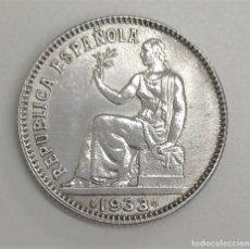 Monedas República: 1933 *34 ESPAÑA - 1 PESETA - REPUBLICA - PLATA - S/C-. Lote 210044446