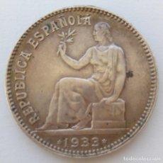 Monedas República: REPÚBLICA ESPAÑOLA - 1 PESETA - 1933*3-4 - PLATA - VEA FOTOS. Lote 210796035