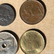 Monedas República: CUATRO MONEDAS REPUBLICA ESPAÑOLA. Lote 210941090