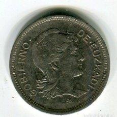 Monedas República: 1 (UNA) PESETA GOBIERNO DE EUZCADI AÑO 1937. Lote 211510796