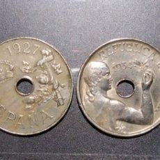 Monedas República: 25 CÉNTIMOS LAS 4 * 1925 * 1927 * 1934 * 1937. Lote 211511274