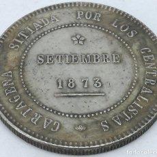 Moedas República: RÉPLICA MONEDA 1873. 5 PESETAS. REVOLUCIÓN CANTONAL, CARTAGENA, I REPÚBLICA ESPAÑOLA. Lote 211603856