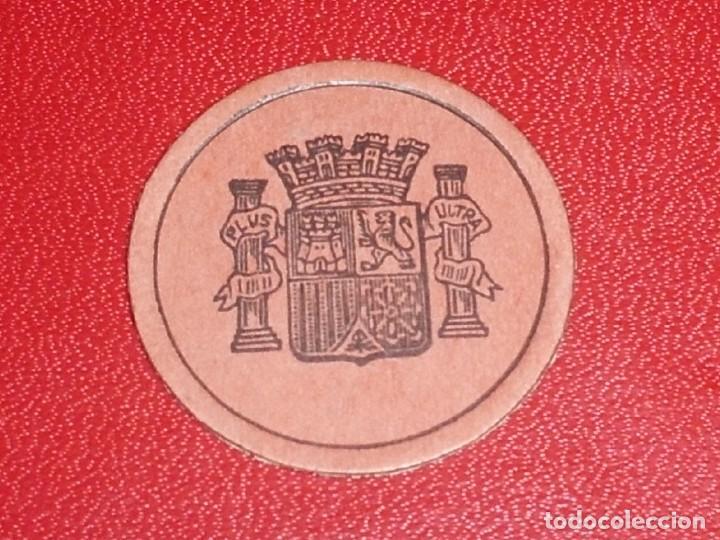 Monedas República: SELLO MONEDA. Nº 28. 50 CENT, NARANJA - NICOLAS SALMERON MUY RARO. RR - Foto 2 - 212279172
