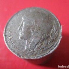 Monedas República: LOTE 10 MONEDAS DE 5 CENTIMOS DE LA II REPUBLICA. 1937. #SG. Lote 212295307