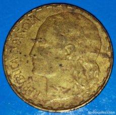 Monedas República: MONEDA 1 PESETA 1937 REPUBLICA ESPAÑOLA. Lote 212561118