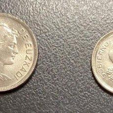 Monedas República: EUZKADI: JUEGO DE DOS MONEDAS DEL AÑO 1937. Lote 212957217