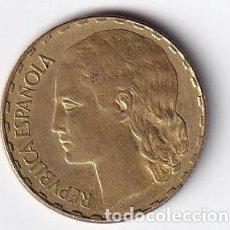 Monedas República: MONEDA, 1 PESETA, REPUBLICA ESPAÑOLA, 1937 CIRCULADA. Lote 214892883