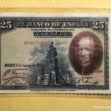 Monedas República: X-2420 )ESPAÑA,,25 PESETAS 1928 EN ESTADO MUY BUENO COMO NUEVO. Lote 215088588