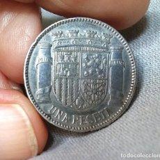 Monedas República: ANTIGUA MONEDA UNA PESETA DE PLATA DE LEY 925 MM AÑO 1933. Lote 243953300