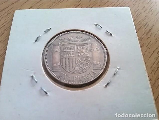 Monedas República: Antigua moneda una peseta de plata de ley 925 mm año 1933 - Foto 4 - 243953300