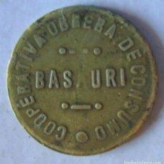 Monedas República: BASAURI -1 K -DE PAN. Lote 216419965