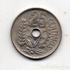 Monedas República: REPÚBLICA ESPAÑOLA. 25 CÉNTIMOS. AÑO 1934. SIN CIRCULAR.. Lote 217313633