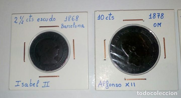 Monedas República: LOTE DE 10 MONEDAS ANTIGUAS - Foto 2 - 218235520