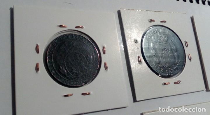 Monedas República: LOTE DE 10 MONEDAS ANTIGUAS - Foto 3 - 218235520