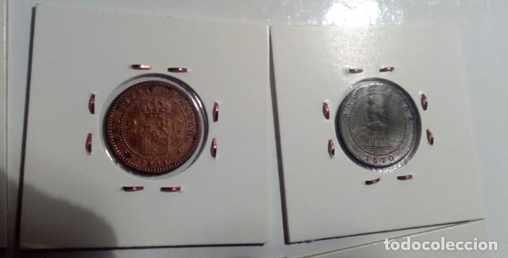 Monedas República: LOTE DE 10 MONEDAS ANTIGUAS - Foto 4 - 218235520