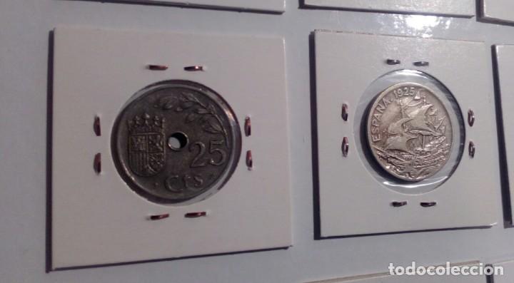 Monedas República: LOTE DE 10 MONEDAS ANTIGUAS - Foto 6 - 218235520