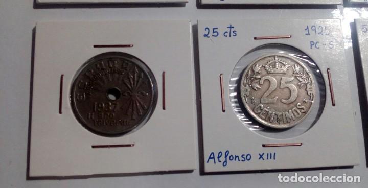 Monedas República: LOTE DE 10 MONEDAS ANTIGUAS - Foto 7 - 218235520