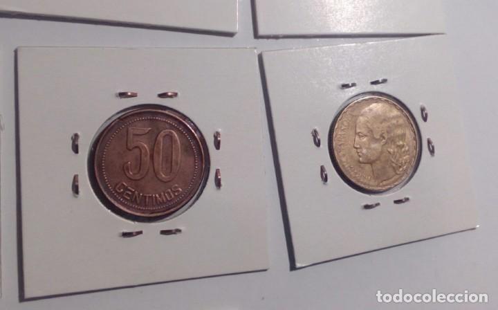 Monedas República: LOTE DE 10 MONEDAS ANTIGUAS - Foto 9 - 218235520