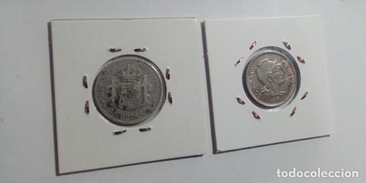 Monedas República: LOTE DE 10 MONEDAS ANTIGUAS - Foto 11 - 218235520