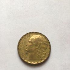 Monedas República: 1 PESETA 1937 REPUBLICA. Lote 218296666