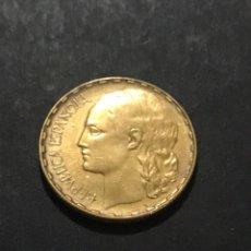 Monedas República: 1 PESETA 1937. Lote 218996368