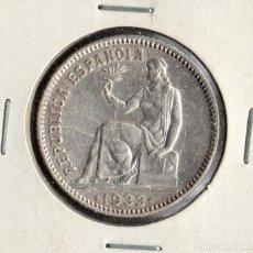 Monedas República: MONEDA DE ESPAÑA, REPUBLICA ESPAÑOLA 1 PESETA DE 1933 ESTRELLAS *3 *4 . LA DE LAS FOTOS .. Lote 219643456