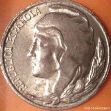 Monedas República: 5 CÉNTIMOS 1937. Lote 219656458