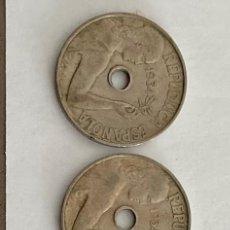 Monedas República: MONEDA 25 CENTIMOS DE PESETA DE 1934 MADRID. Lote 219720093