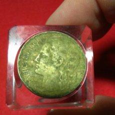 Monedas República: PESETA DE 1937 REPUBLICA ESPAÑOLA. Lote 234166540