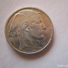 Monedas República: BELGICA . 20 FRANCOS MUY ANTIGUOS DE PLATA . AÑO 1949 . SIN CIRCULAR. Lote 220808875
