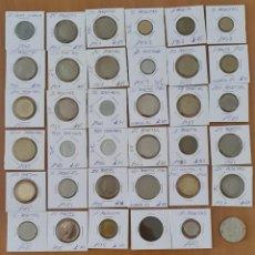 Monedas República: LOTE DE 36 MONEDAS DE VARIAS ESPOCAS , ALGUNAS SIN CIRCULAR LAS OTRAS EN MUY BUEN ESTADO. Lote 221548760