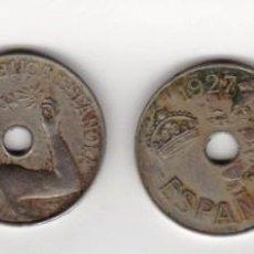 Monedas República: LOTE 4 MONEDAS 25 CTS 1925/1927/1934/1937. Lote 221626691