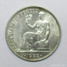 Monedas República: SEGUNDA REPUBLICA ESPAÑOLA 1 PESETA DE PLATA 1933 * 3 - 4. PLATA. LOTE 3487. Lote 221682413