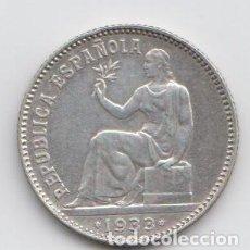 Monedas República: 1 PESETA - PLATA 1933 *34. II REPÚBLICA. Lote 221766690