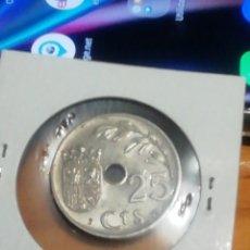 Monedas República: 25 CÉNTIMOS DE 1937 REPÚBLICA ESPAÑOLA SIN CIRCULAR. Lote 221836807