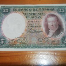 Monedas República: 25 PESETAS DE 1931 IMPRESIONANTE. Lote 221841793