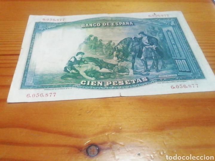 Monedas República: Billete de 100 pesetas de 1931 en muy buen estado de conservación - Foto 2 - 221842158