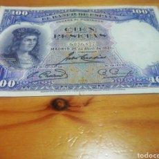 Monedas República: BILLETE DE 100 PESETAS DE 1931 EN MUY BUEN ESTADO DE CONSERVACIÓN. Lote 221842158
