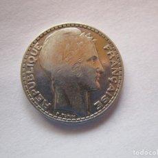Monedas República: FRANCIA . 10 FRANCOS DE PLATA ANTIGUOS . ACUÑADA EN 1932 . MUY BONITA. Lote 221894317