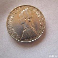 Monedas República: ITALIA . 500 LIRAS DE PLATA ANTIGUAS . AÑO 1969. SIN CIRCULAR. Lote 221894926