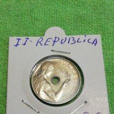 Monedas República: 25 CÉNTIMOS DE 1934 DE NÍQUEL SIN CIRCULAR.. Lote 222045097