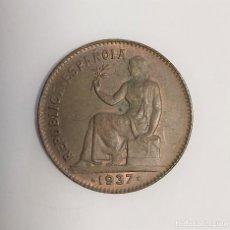 Monedas República: 50 CÉNTIMOS 1937. Lote 222141283
